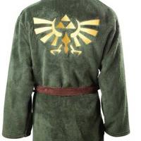 Legend of Zelda Bathrobe Looks Pretty Darn Luxurious