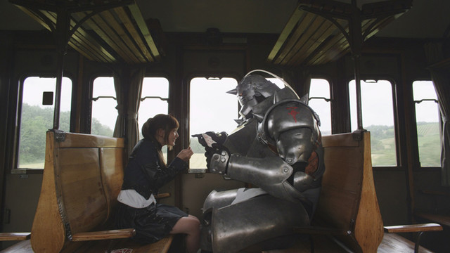 Winry and Alphonse.