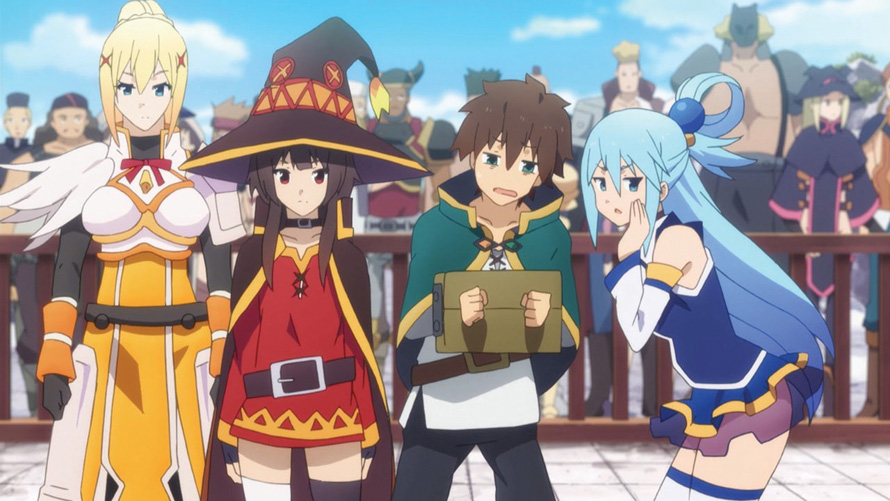 KONOSUBA—God's blessing on this wonderful world!