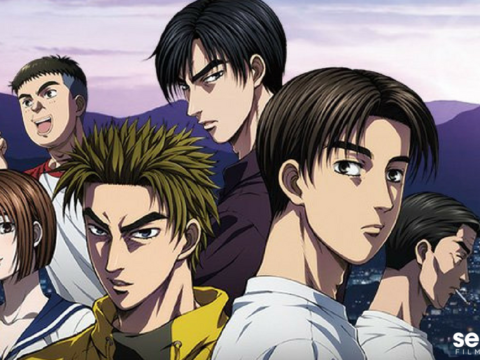 New Initial D Anime Film Gets U.S. Screening
