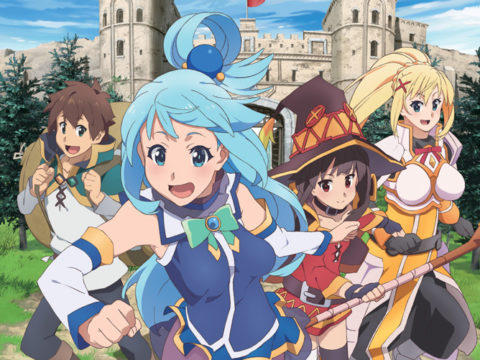 KONOSUBA is genuinely funny and sharply satirical.