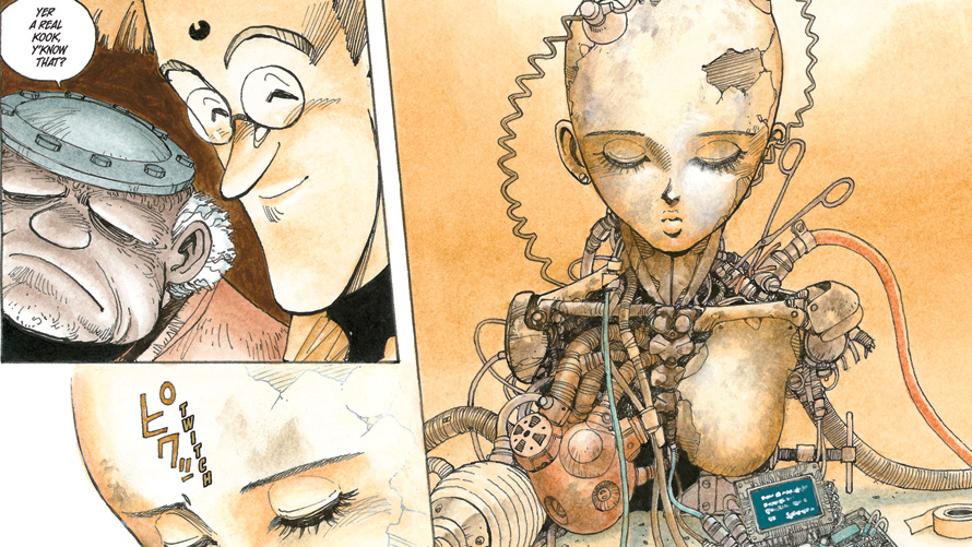 Battle Angel Alita Deluxe Edition [Manga Review]