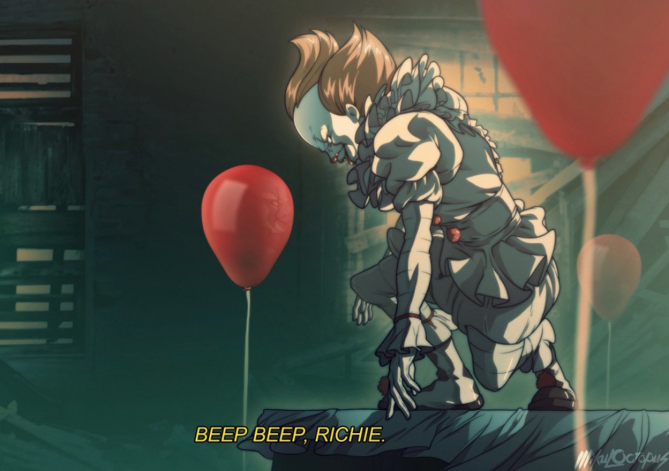 Anime-Style Pennywise is Pure Nightmare Fuel