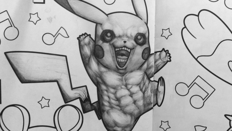 Roided-Out Pikachu Horrifies Japanese Twitter