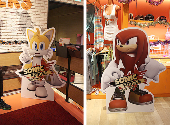 Sonic Forces promotion at Hooters