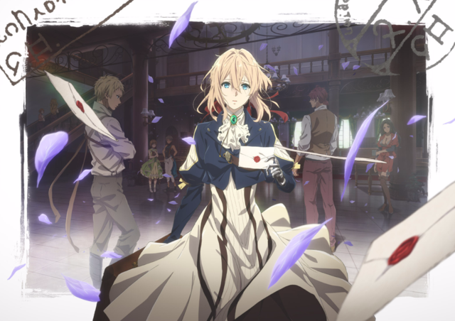 KyoAni Shows More of Violet Evergarden Anime