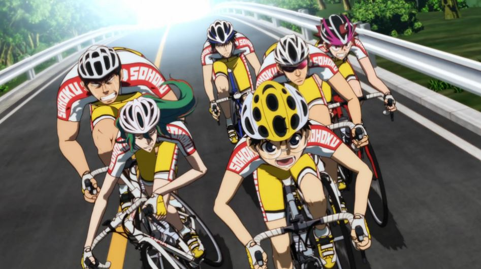 Yowamushi Pedal Anime Reveals Season 4 Title and Visual