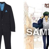 Fashion Band SuperGroupies Releases Cowboy Bebop Spike Spiegel Suit