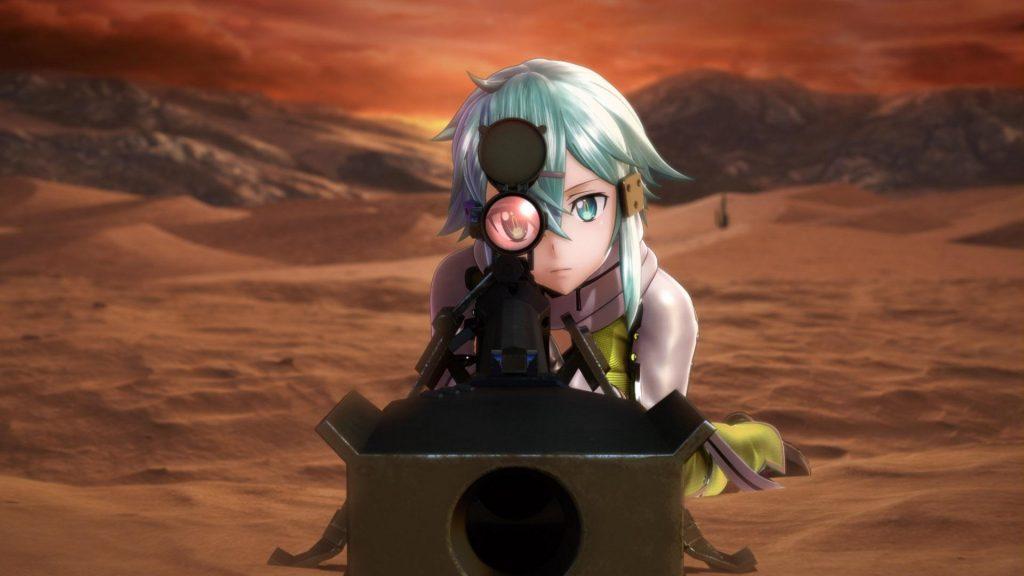 Sword Art Online: Fatal Bullet Trailer Shows More Action