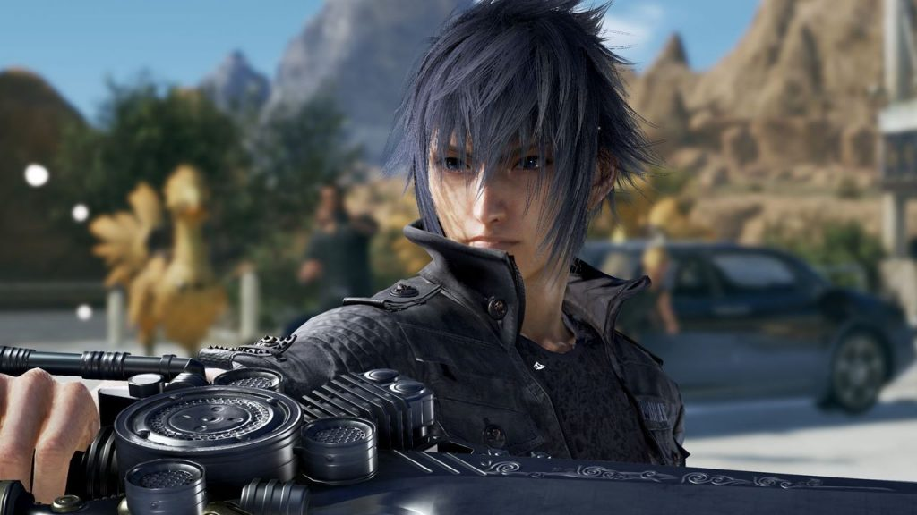 Final Fantasy XV's Noctis Throws Down in Tekken 7