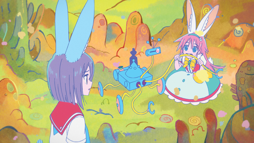 Understatement: Flip Flappers is a Psychedelic Take on Magical Girls
