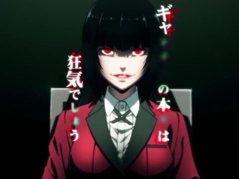 Kakegurui Anime's First Season Hits Netflix on February 1