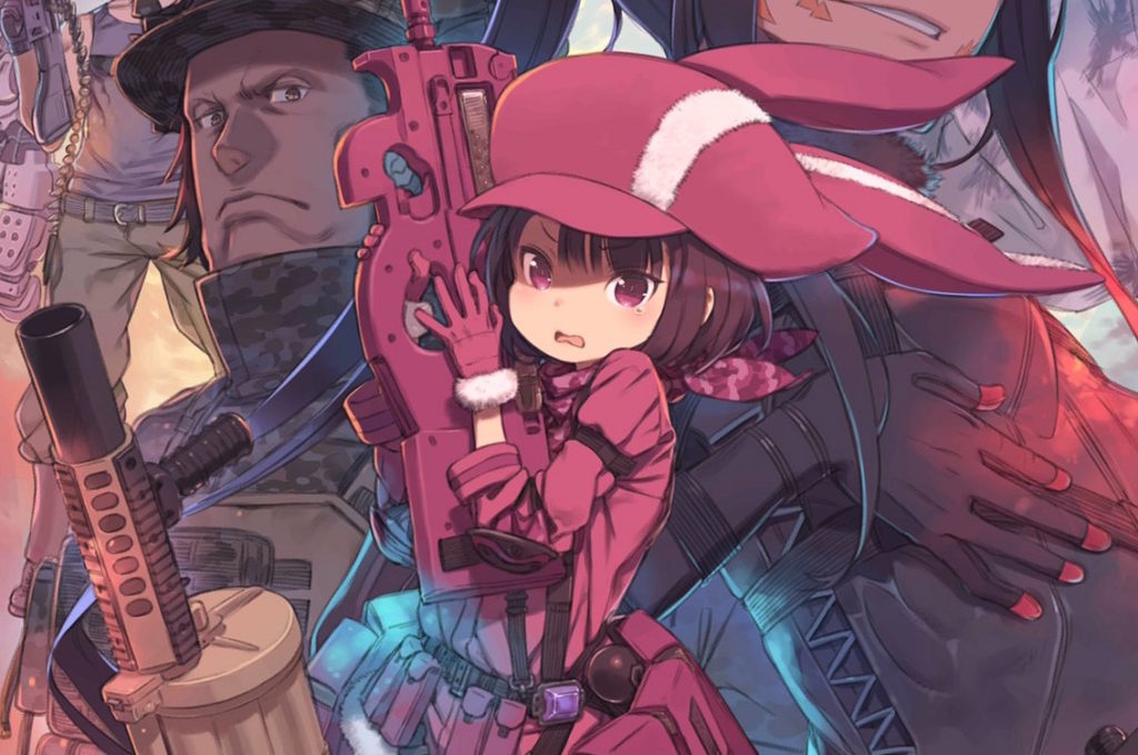 Sword Art Online's Gun Gale Online Anime Set for April