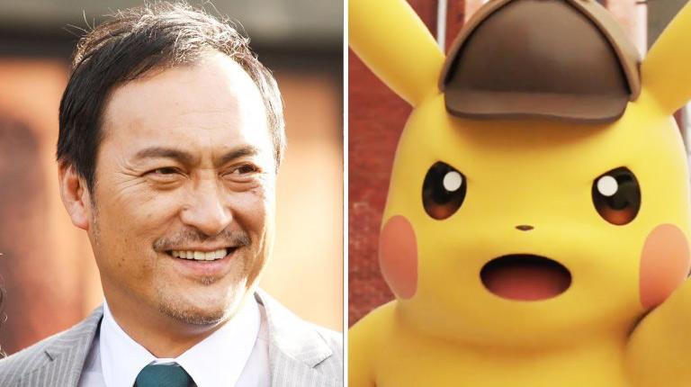 Ken Watanabe Joins Cast of Pokemon Movie Detective Pikachu
