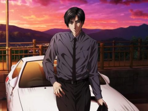 New Initial D Anime Film Trilogy Heads to North American Theaters