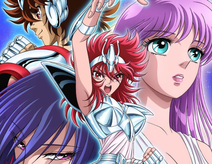 Saint Seiya: Saintia Shou Anime Reveals New Visual