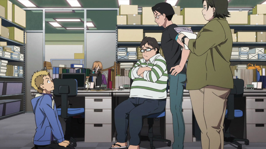 SHIROBAKO is a love letter to the people who make anime a reality.