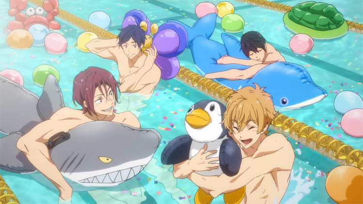 Trailer for U.S. Release of Free! Take Your Marks Streamed