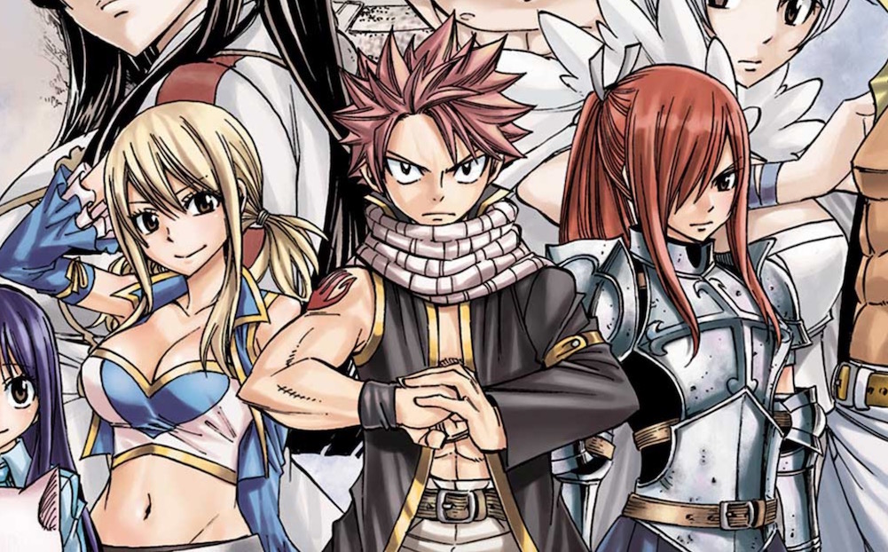 Fairy Tail Manga Author Teases Upcoming Announcements