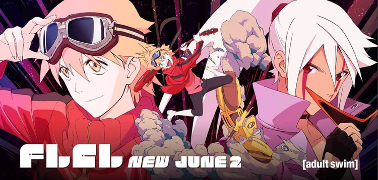 Full English-Language Casts Revealed for FLCL Progressive and Alternative
