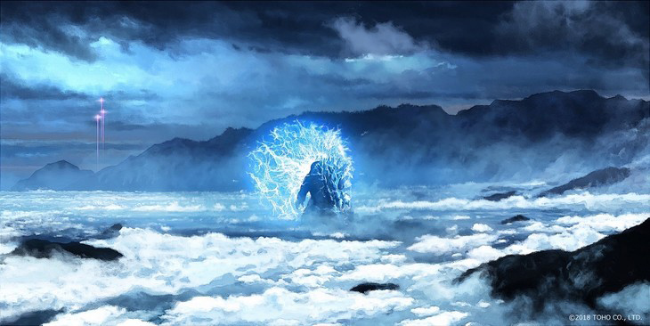 Second CG Godzilla Film Release Date Set
