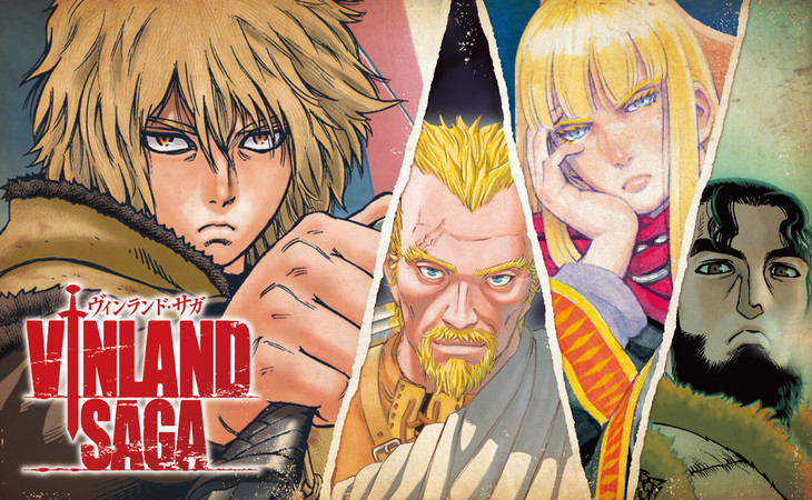Vinland Saga Manga Author Apologizes for Drawing Denmark with Too Many Mountains