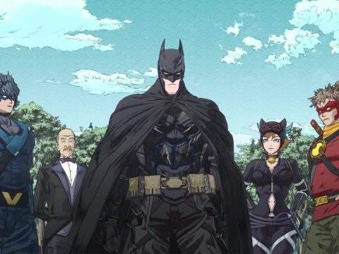 Batman Ninja Anime Film Fights in the Forest in Exclusive Clip
