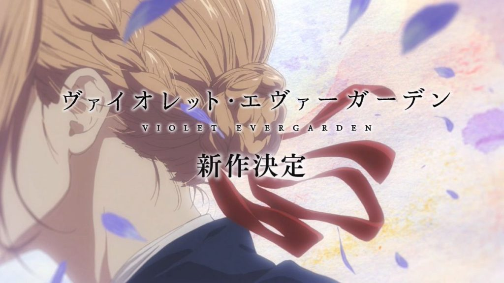 "Violet Evergarden Anime Gets ""Totally New"" Project"
