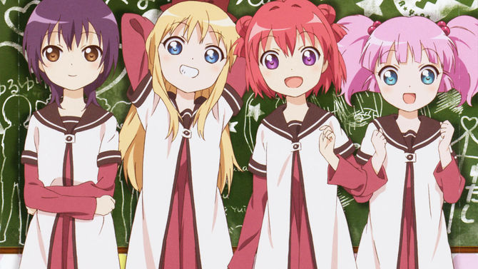 YuruYuri Gets New OVA in Celebration of 10th Anniversary