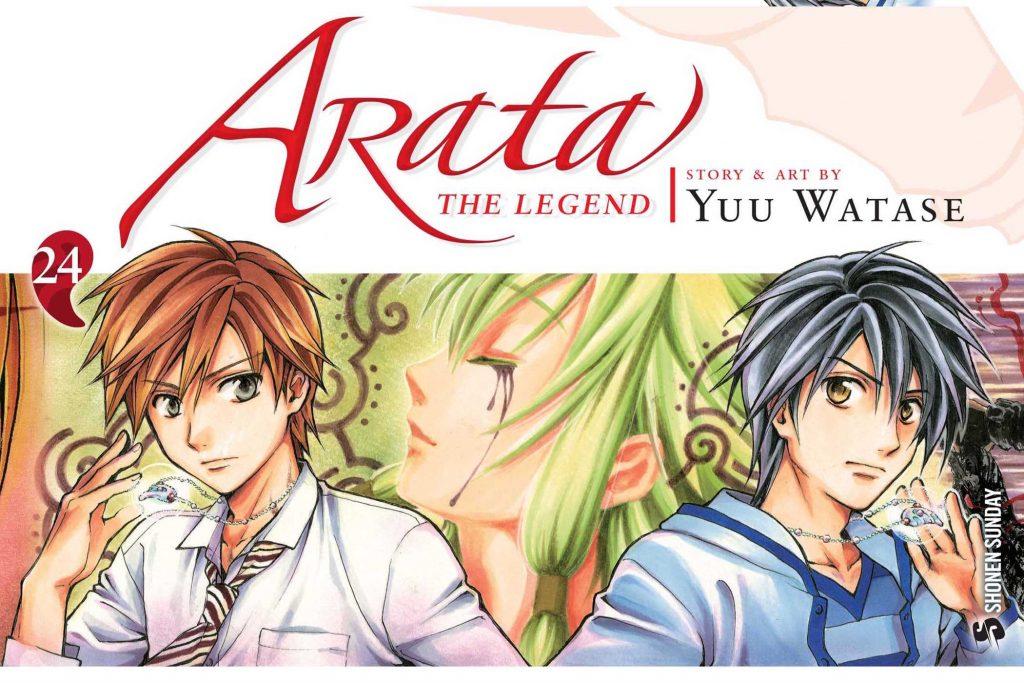 Yuu Watase Says She's Resuming Arata: The Legend Manga