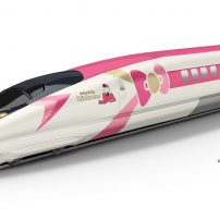 Hello Kitty Shinkansen Starts Speeding Through Japan Next Month