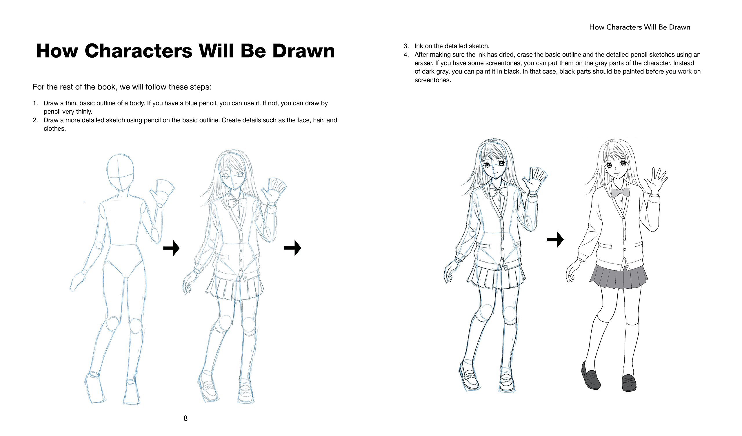 manga art