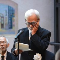 Hayao Miyazaki Delivers Eulogy at Isao Takahata Farewell Ceremony
