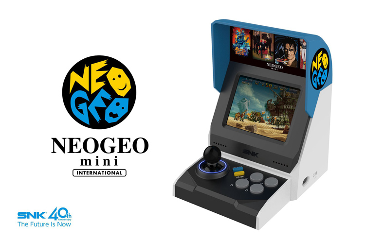 SNK's 40-Game Neo Geo Mini Revealed