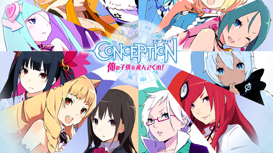 Conception TV Anime to Premiere in Japan on October 9