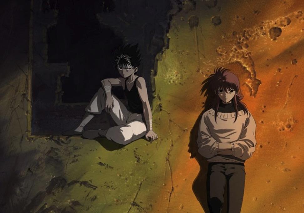New Yu Yu Hakusho Anime Showcases Key Visual