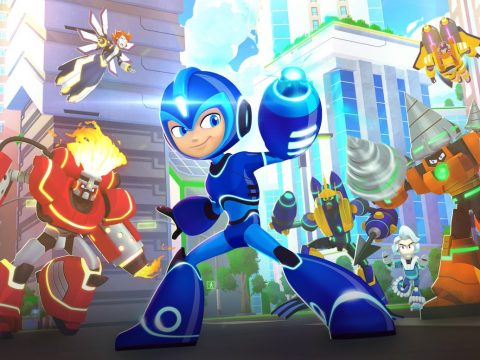 Mega Man: Fully Charged Animated Series Previews First Episode