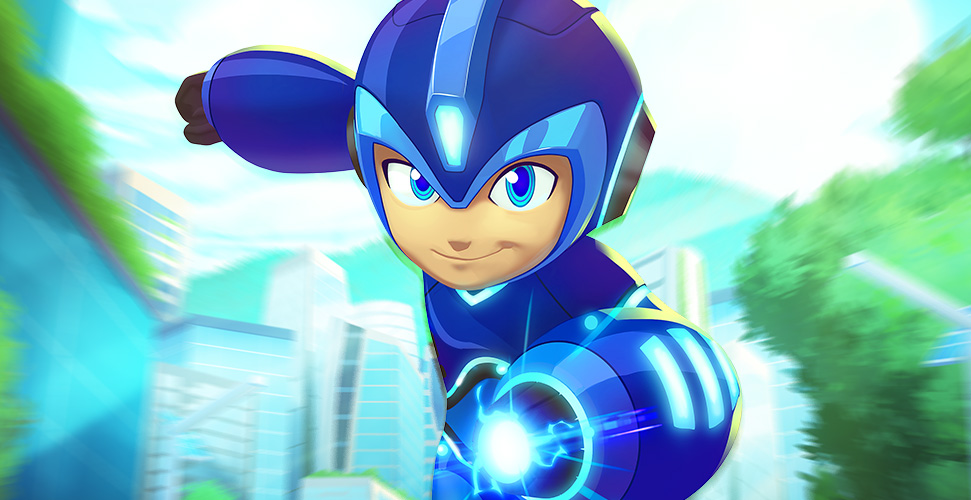 Mega Man's New Animated Series Heads to Comic-Con