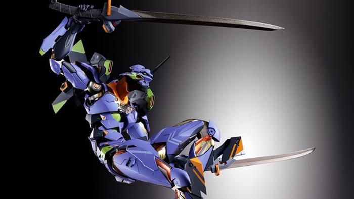 Evangelion Unit-01 Gets New High-Quality Metal Build Figure