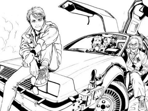 Yuusuke Murata's Back To the Future Manga Canceled