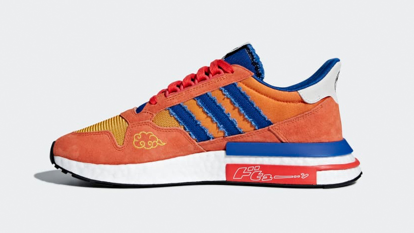 Adidas Unveils Goku and Frieza Dragon Ball Z Shoes