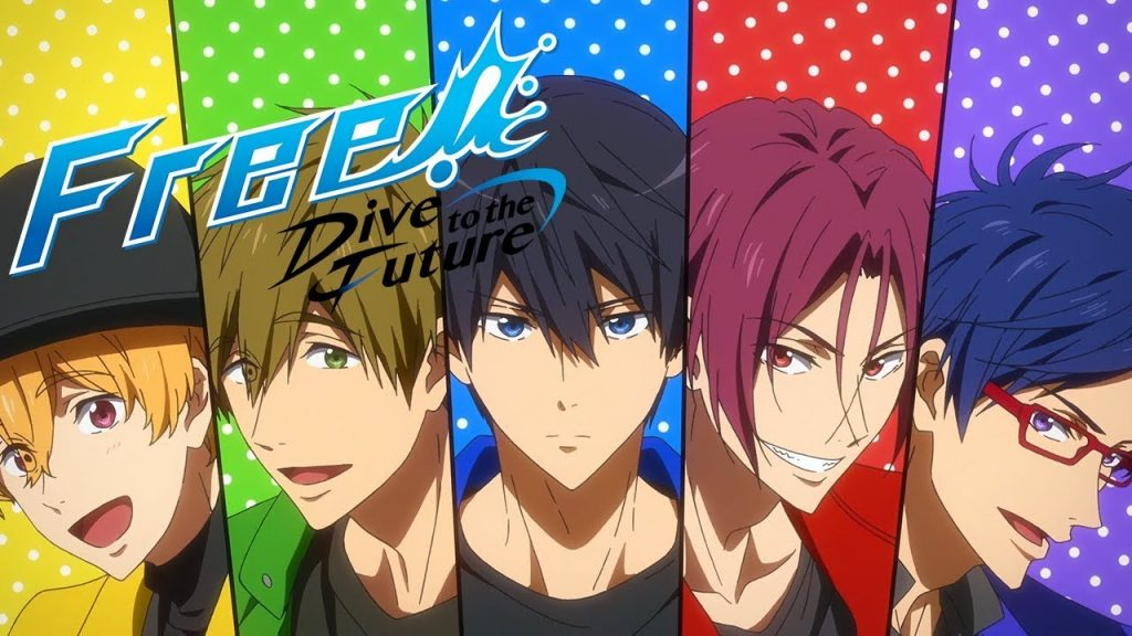 Free! Dive to the Future Teases 2020 Return for Franchise