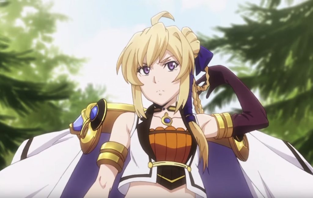 Record of Grancrest War Heads to Mobile Devices