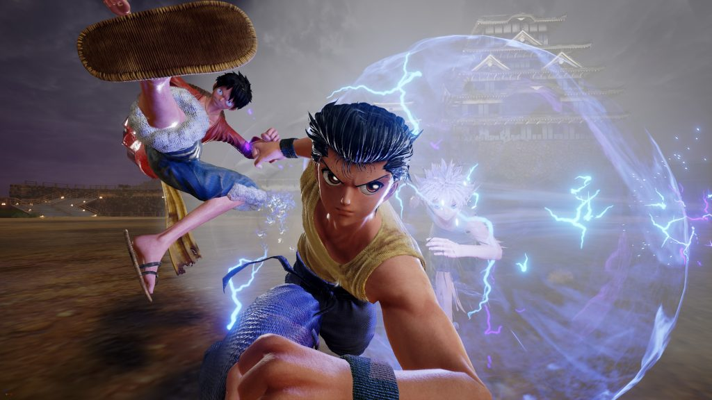 Yu Yu Hakusho Characters Attack in JUMP FORCE Trailer