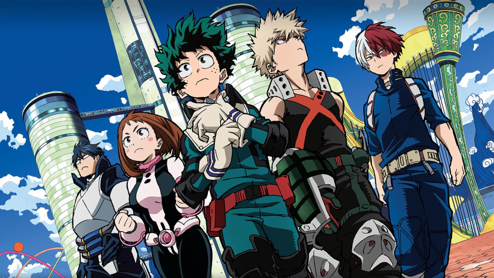 My Hero Academia Live-Action Hollywood Adaptation Announced