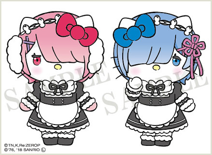 Re:Zero Teams Up With Hello Kitty for Ultra-Cute Collaboration