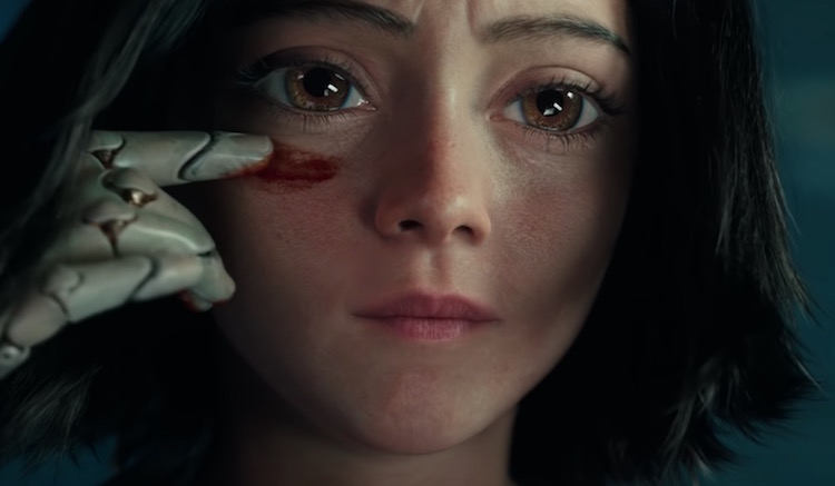 Alita: Battle Angel Trailer Shows Off Its Wide-Eyed Action