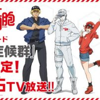 Cells at Work! Anime Gets New Episode, Smartphone Game