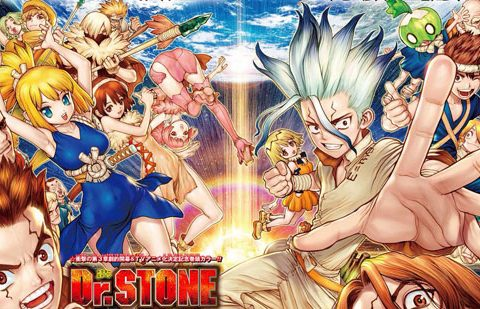 VIZ Offering Free Chapters of Dr. Stone Manga