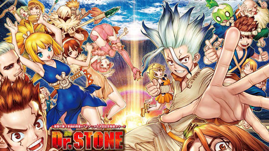 VIZ Offering Free Chapters of Dr. Stone Manga